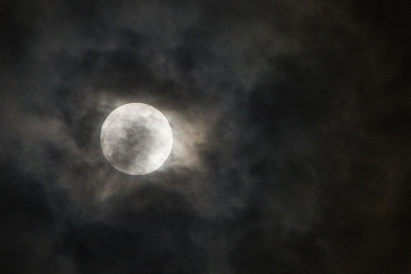 Lenten Moon