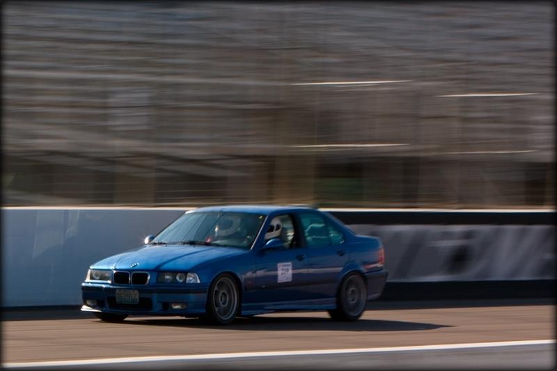 Track day at Gateway International Raceway