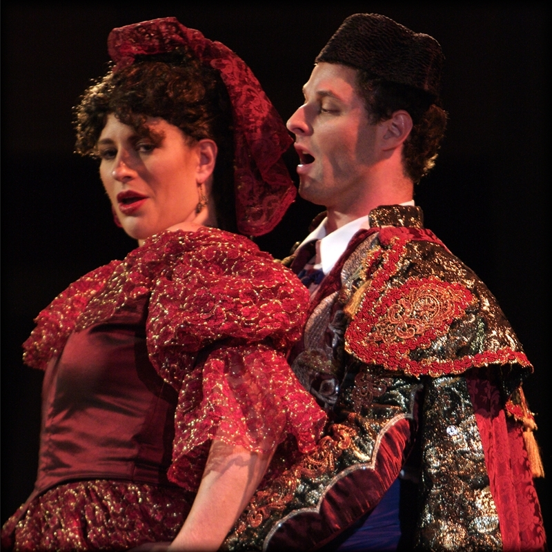 Scene from Union Avenue Opera production of Carmen