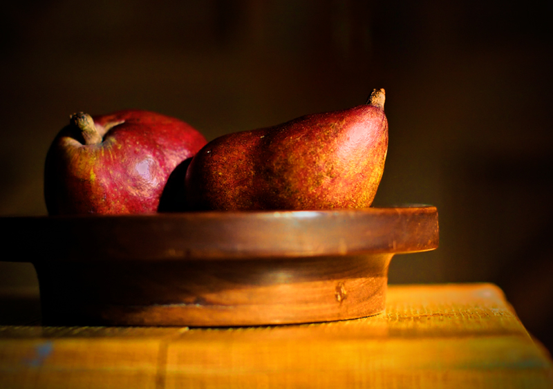 Still Life: pears iii