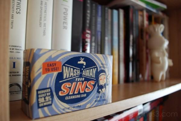 Wash Away Your Sins!