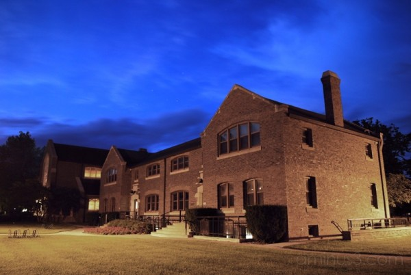 Night on Grinnell College