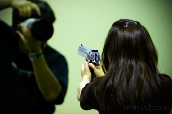 Who's shooting who