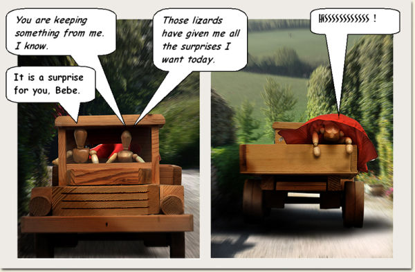 2¢ Sunday Comics :  #8,  ' Headed Home '