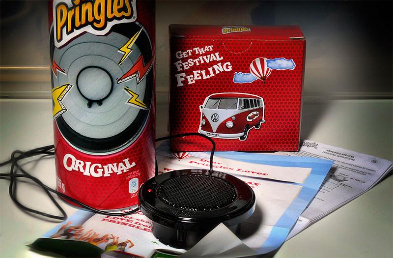 The Pringles Speaker