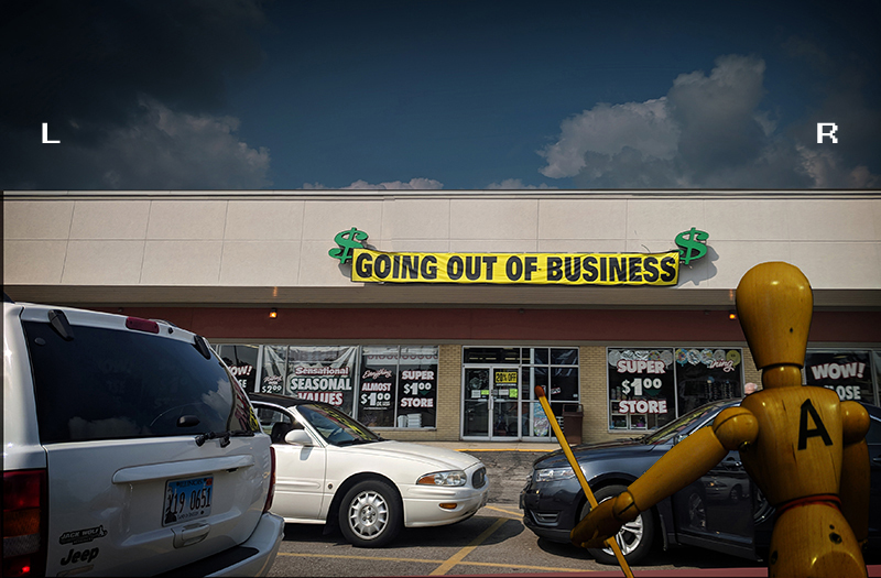 $ GOING OUT OF BUSINESS $