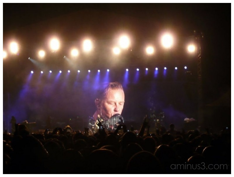 Metallica - Bucharest live performance