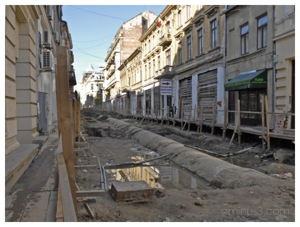 The old side of the Bucharest II