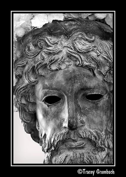 male mask with beard