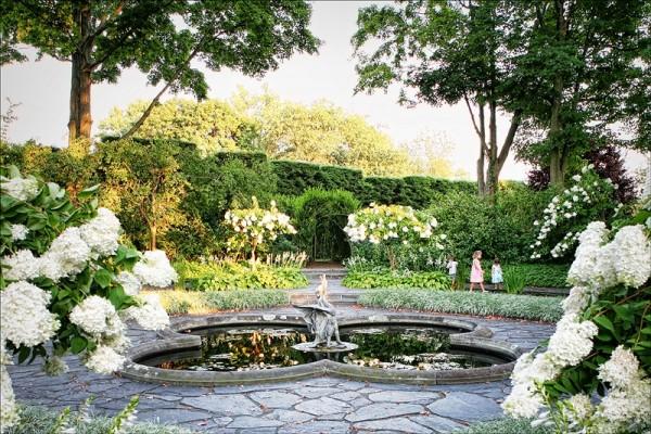Garden at Ladew Topiary Garden