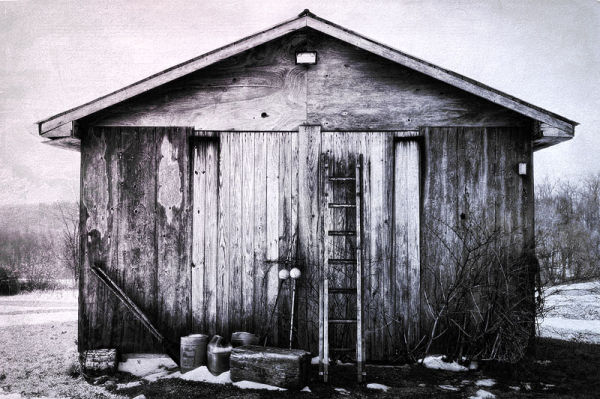 shed and items