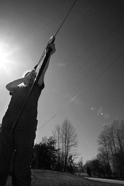 girl shoot a bow and arrow