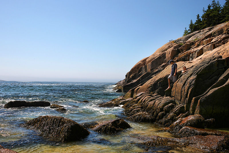 cliffs of Acadia National Park, Maine