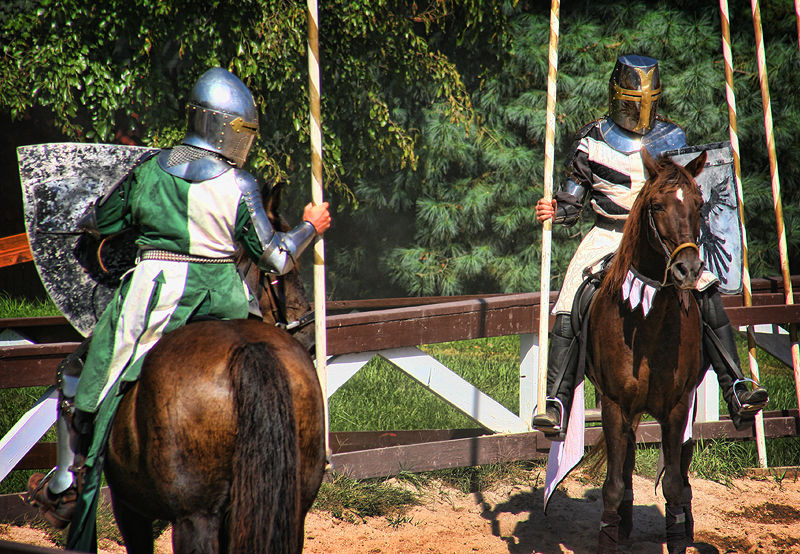 knights at the PA Renaissance faire