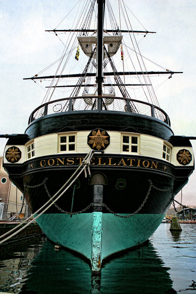 Baltimore Constellation ship