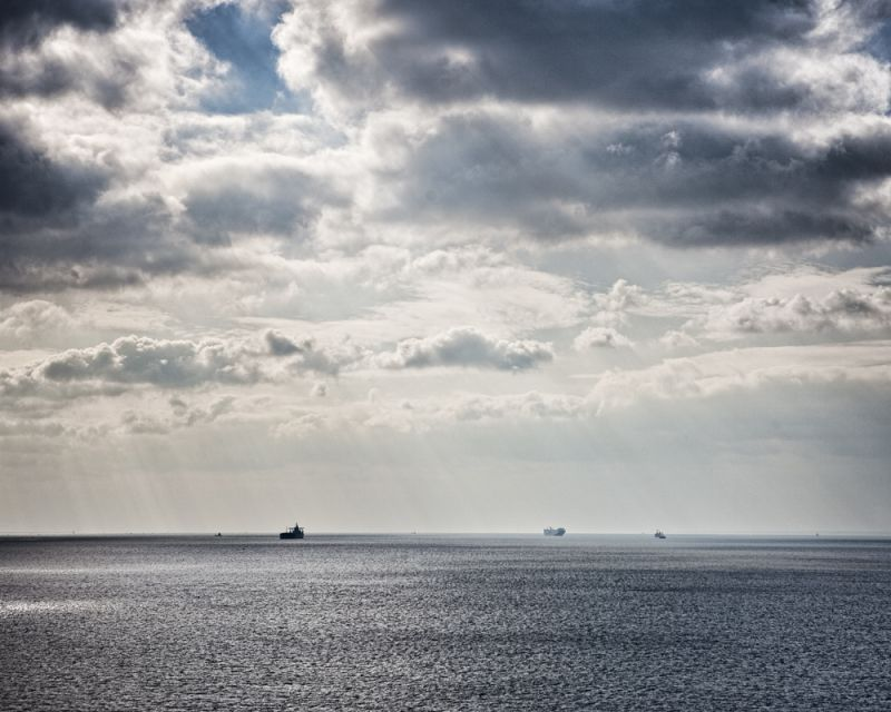 ships in the Chesapeake Bay