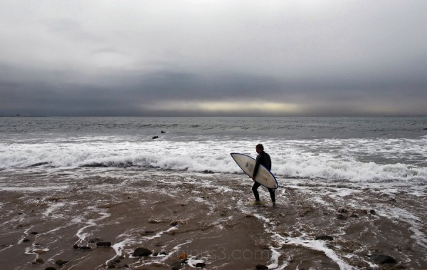 Surfers point Ventura, California