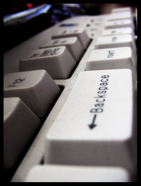 I want a 'Backspace' in life