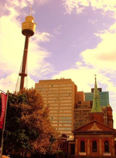 Towering!