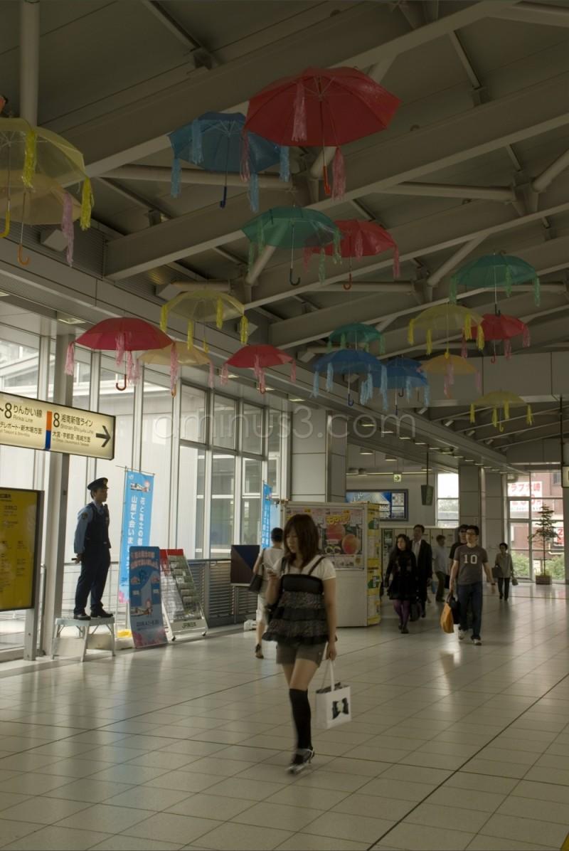 Flying Umbrellas