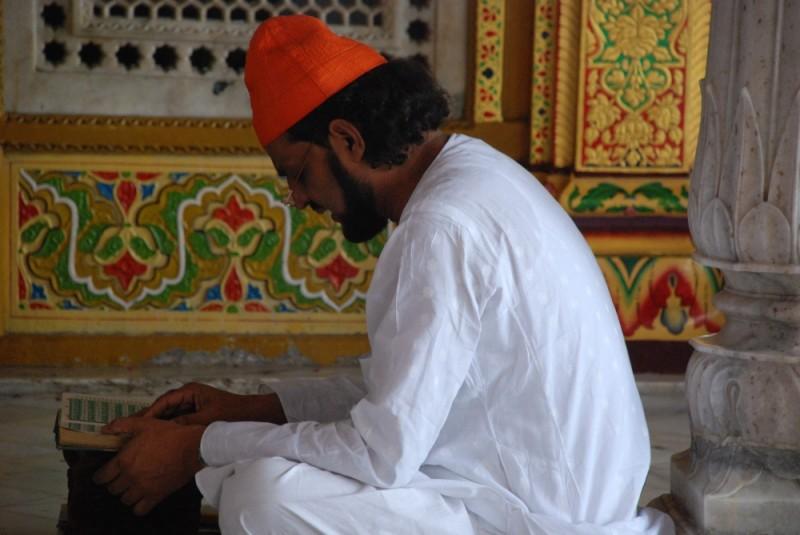 The man in prayer