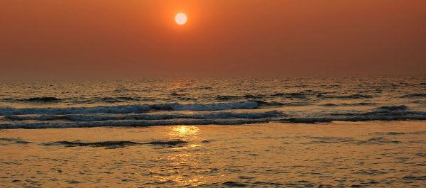 Kannur- Sunset in Arabian sea-1
