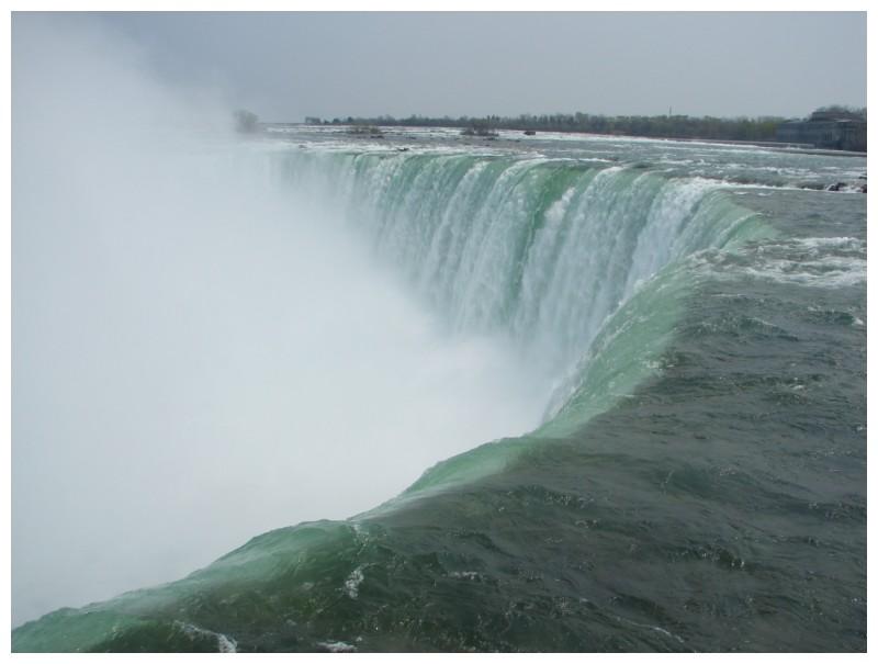 Horseshoe Falls at Niagara Falls, Canada