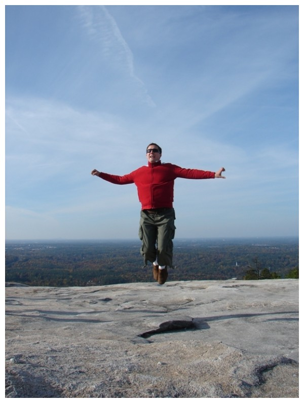 Stone Mountain Jump