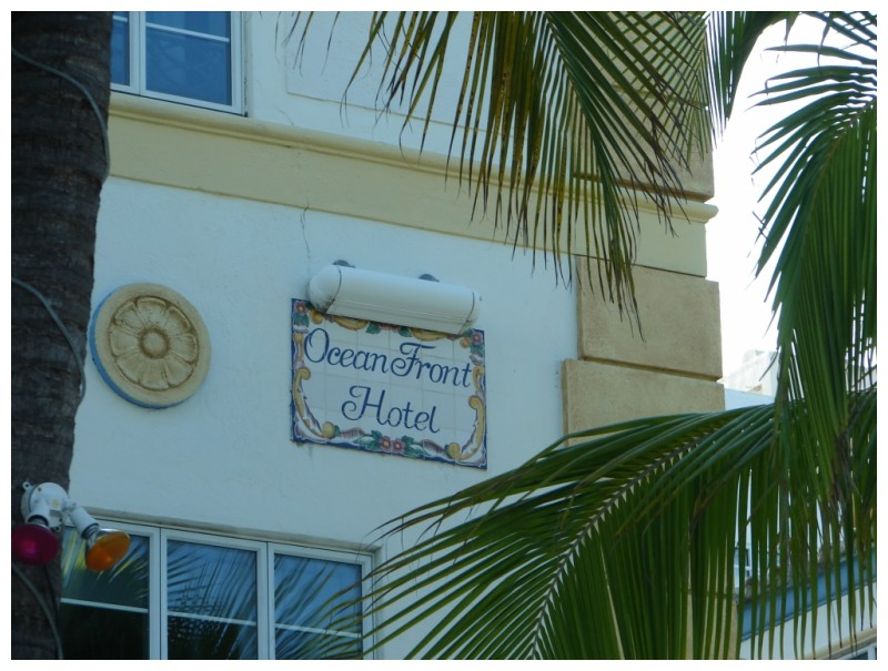 Ocean Front Hotel on Ocean Drive in South Beach