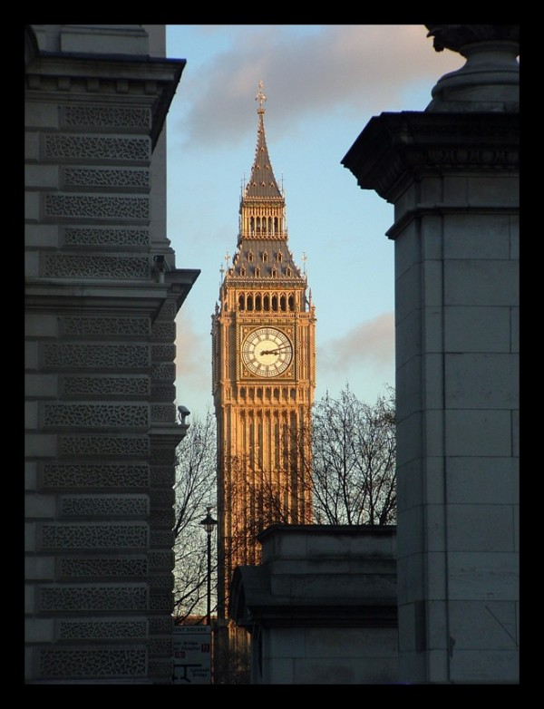 Golden Big Ben