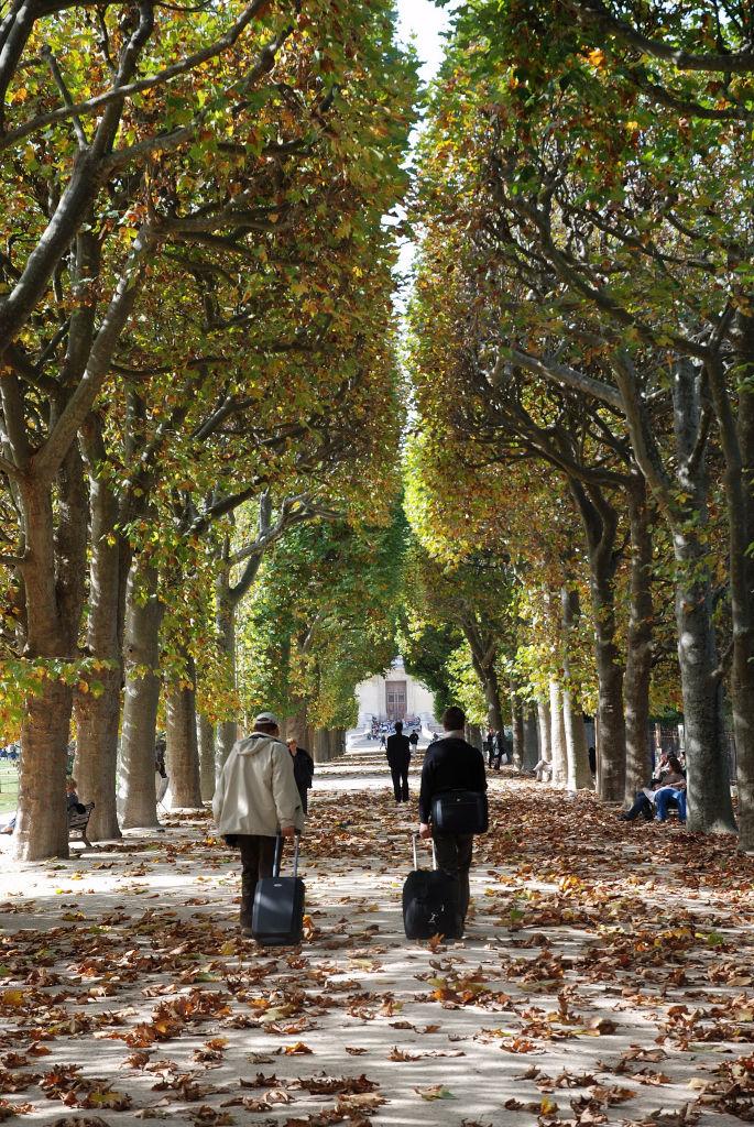 A w Paryżu już jesień ...