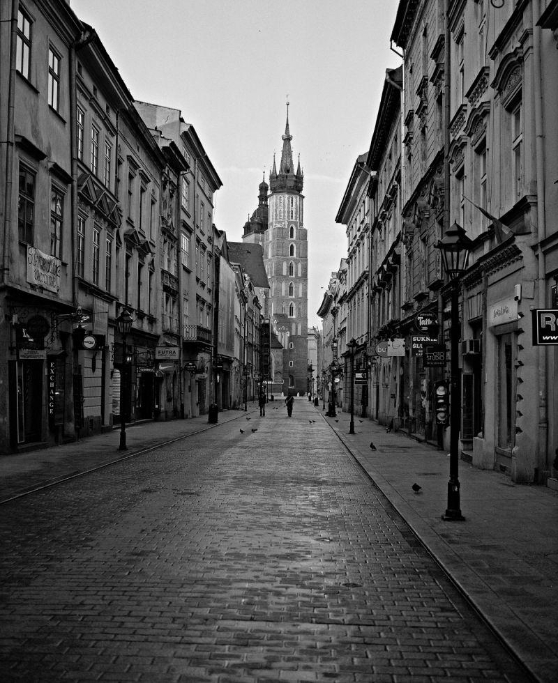 Kraków B&W