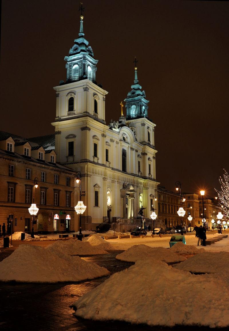 Warszawa Kościół św Krzyża