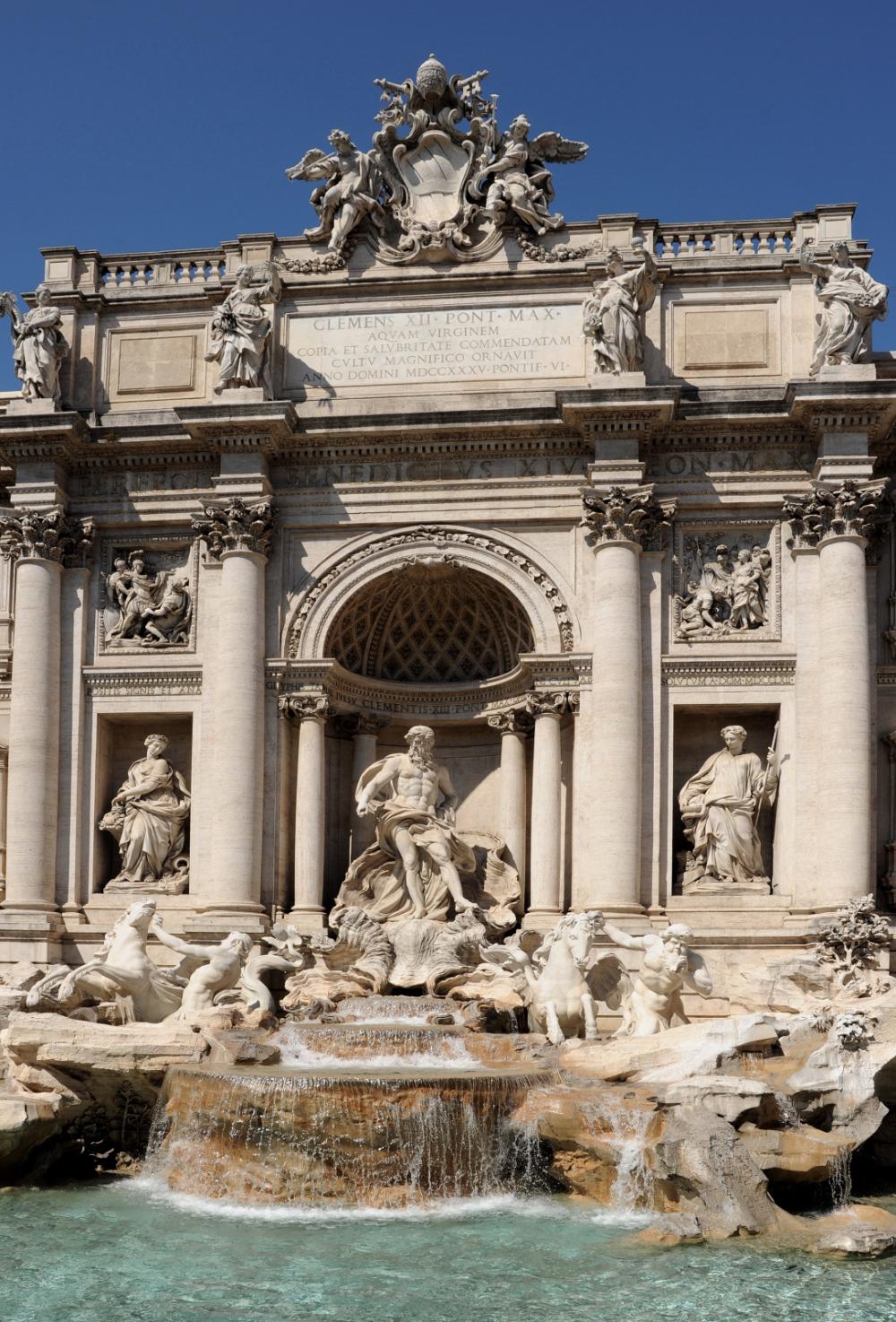 Roma - Fontanna di Trevi