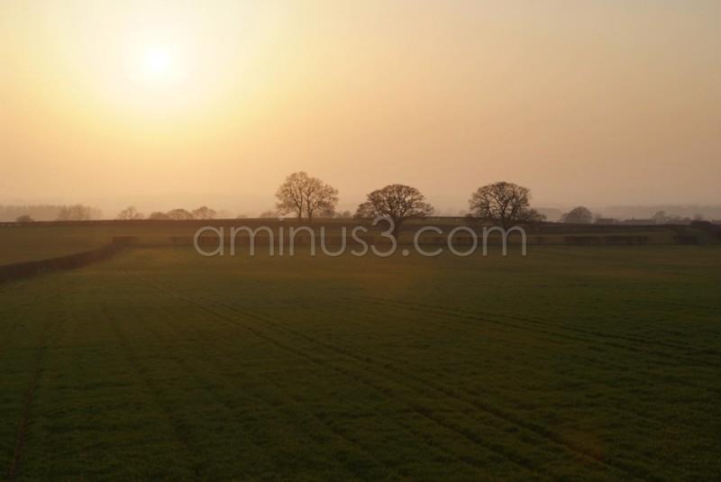 dramatic landscape photograph