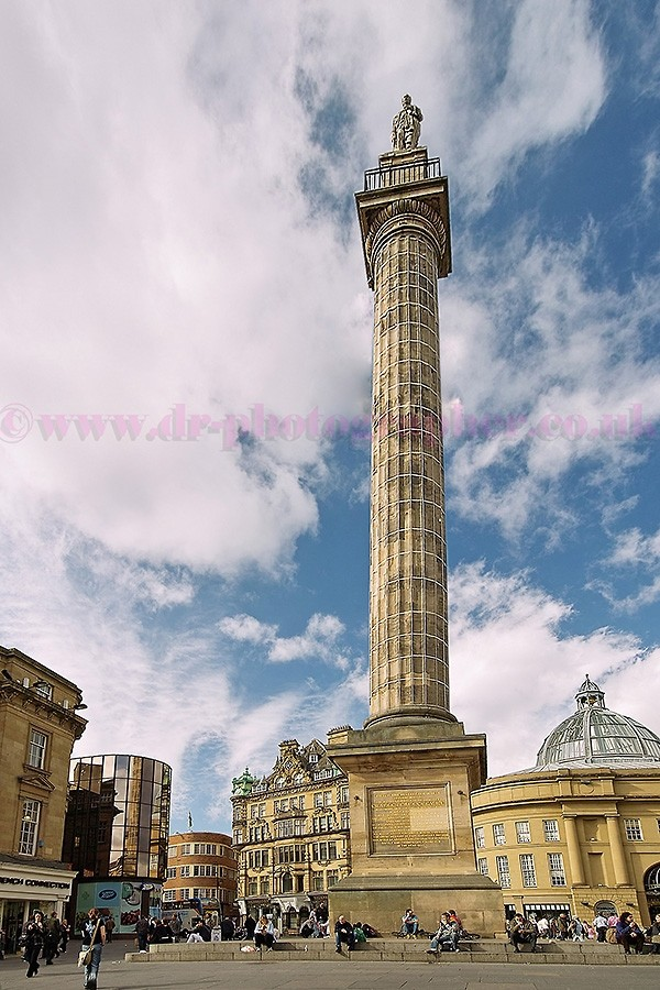 Earl Grey Monument in Newcastle upon Tyne UK