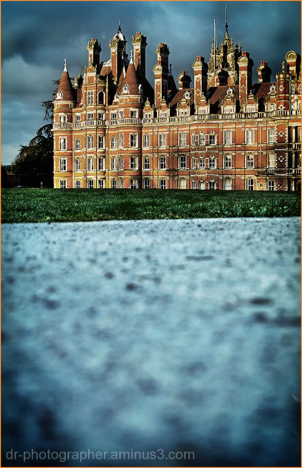 Royal Holloway College London - Sunset