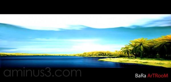 batu berendam Lake (infrared filter)