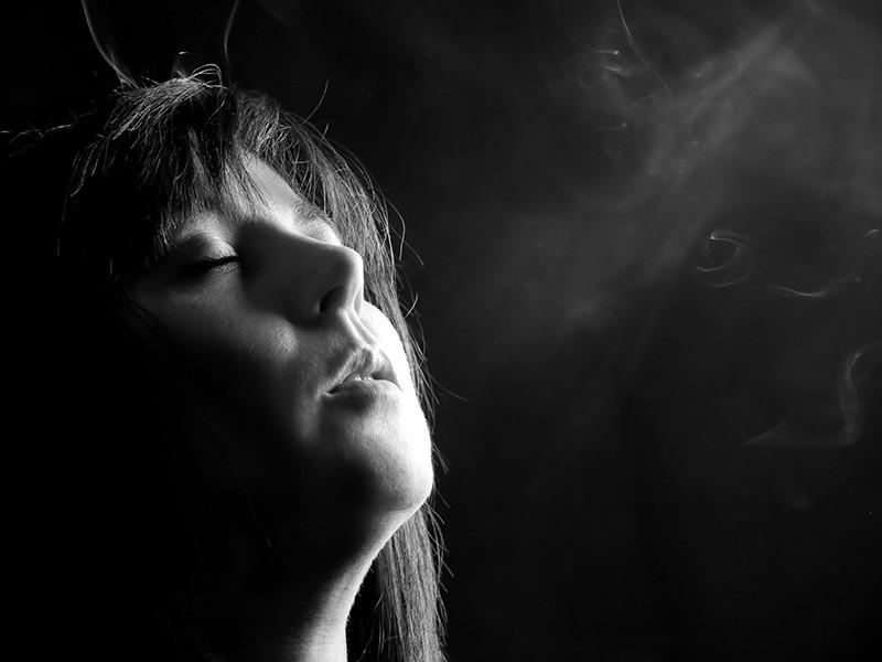 retrato humo tere domingo paillet
