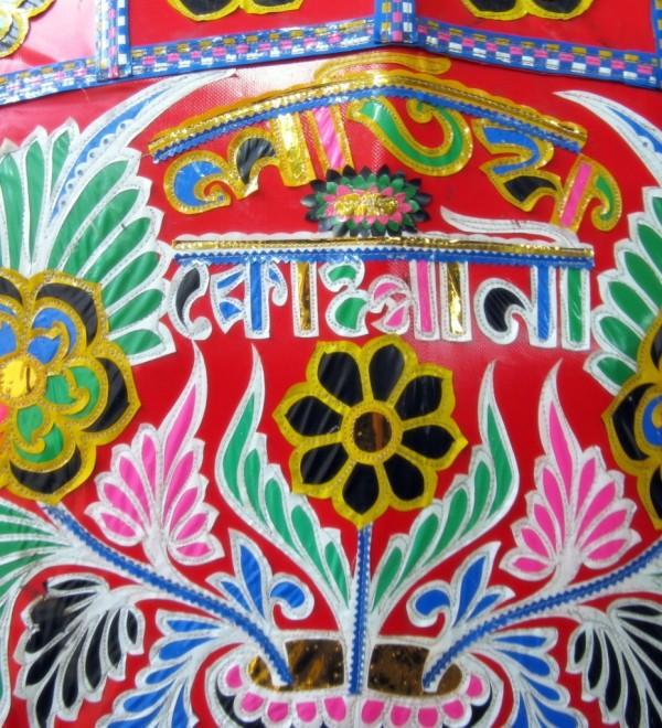 rickshaw back
