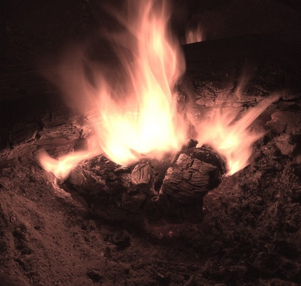 campfire in wisconsin
