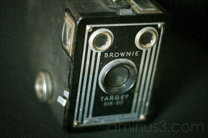 Brownie Target six-20 kodad vintage camera