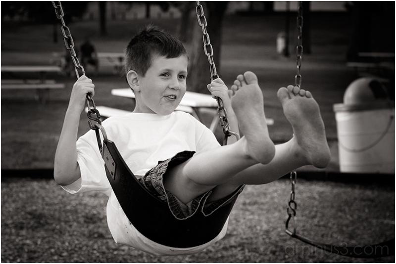 Swinging...