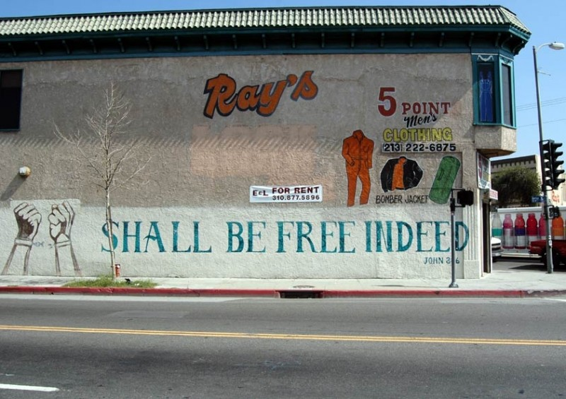 Ray's... For Rent... Shall Be Free Indeed