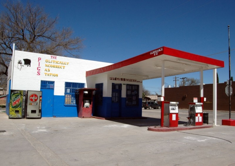 The Politically Incorrect Gas Station