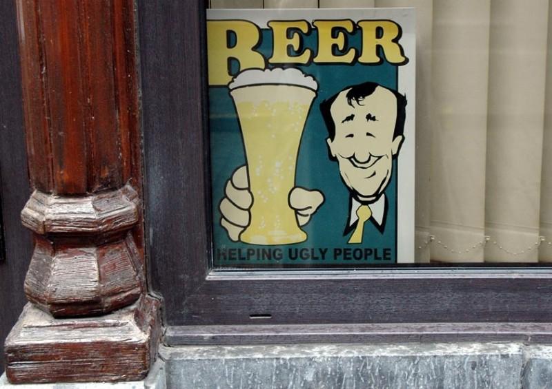 Beer - Helping Ugly People