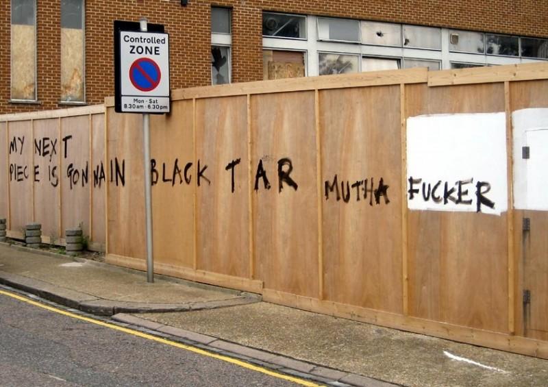 ... Black Tar Mutha Fucker