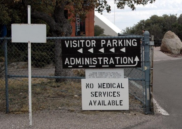 No Medical Services Available