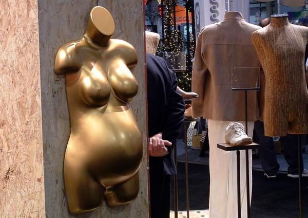 Expectant mannequin