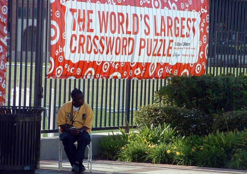 The World's Largest Crossword Puzzle